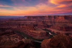 Canyon at Sunset